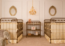 Old-fashioned-nursery-decorated-in-golden-tones-217x155