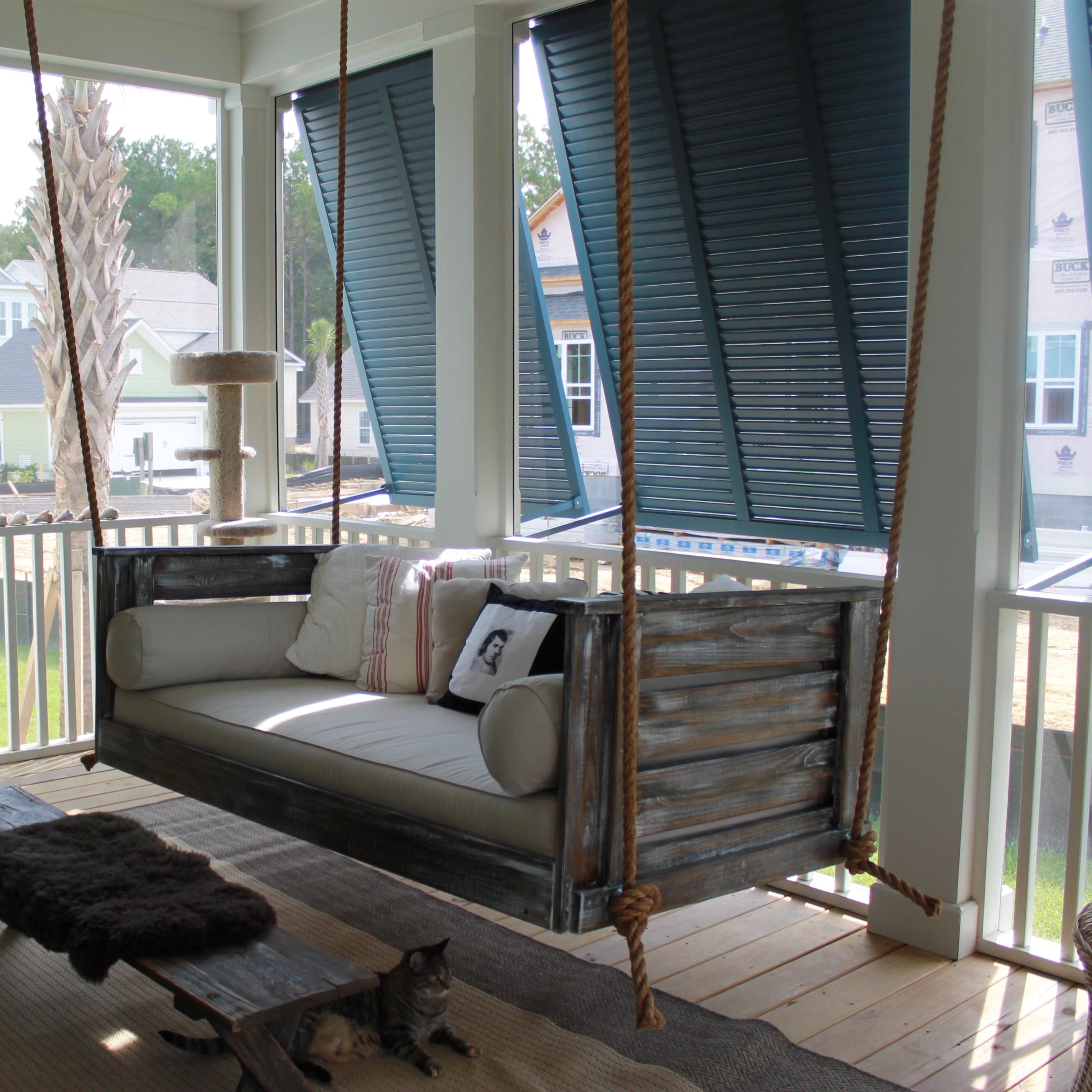 Getting ready for summer enliven your porch with comfy swings solutioingenieria Gallery