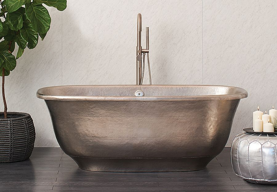 Santorini-Bathtub-in-Brushed-Nickel