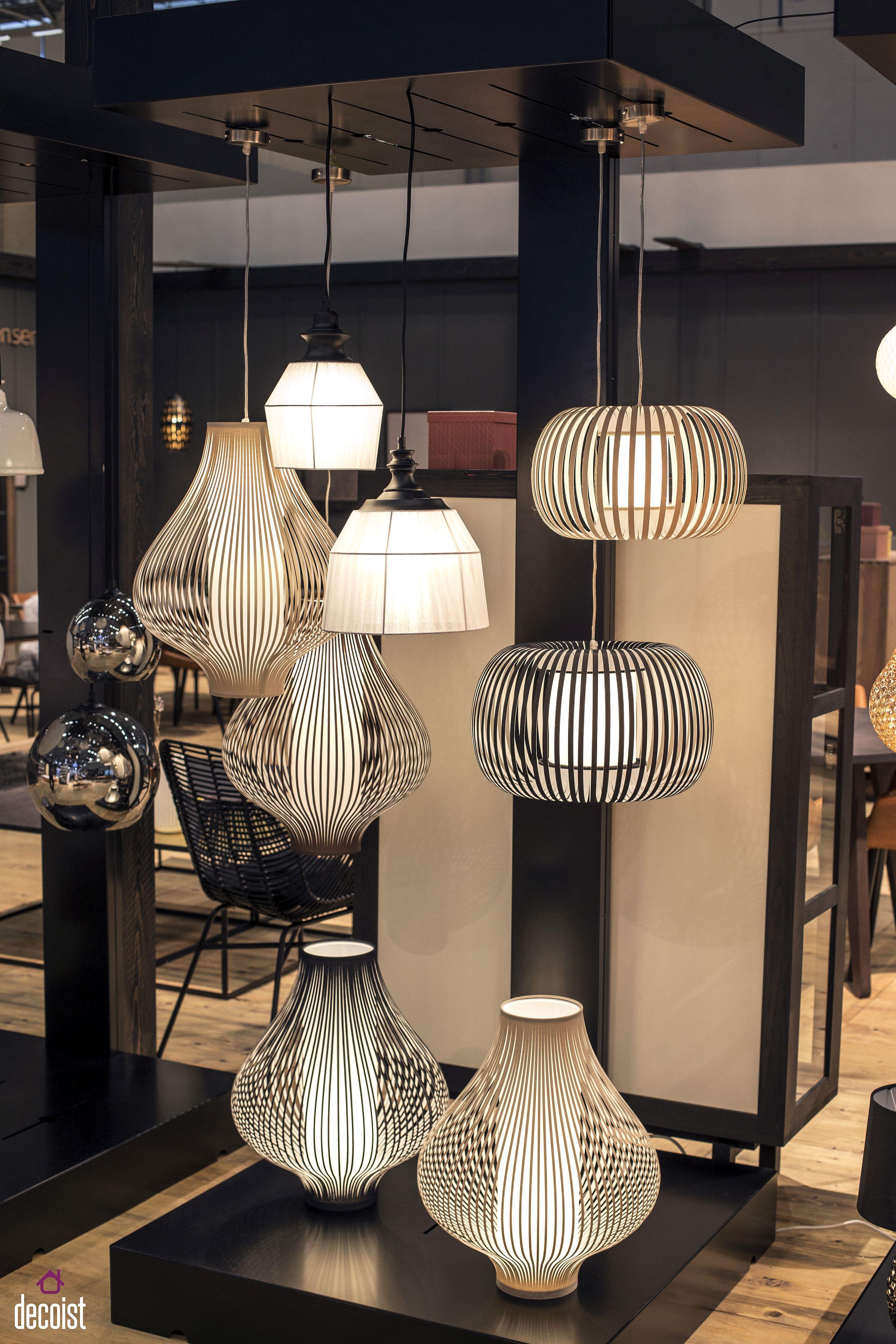 Sculptural and uber-cool pendant lights from Kristensen & Kristensen with a Scandinavian twist