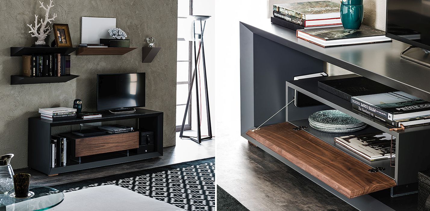 Simple and sleek TV Unit from Cattelan Italia