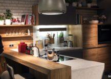 Smart-hanging-boxes-and-open-shelves-shape-a-fabulous-kitchen-counter-that-is-super-convenient-217x155