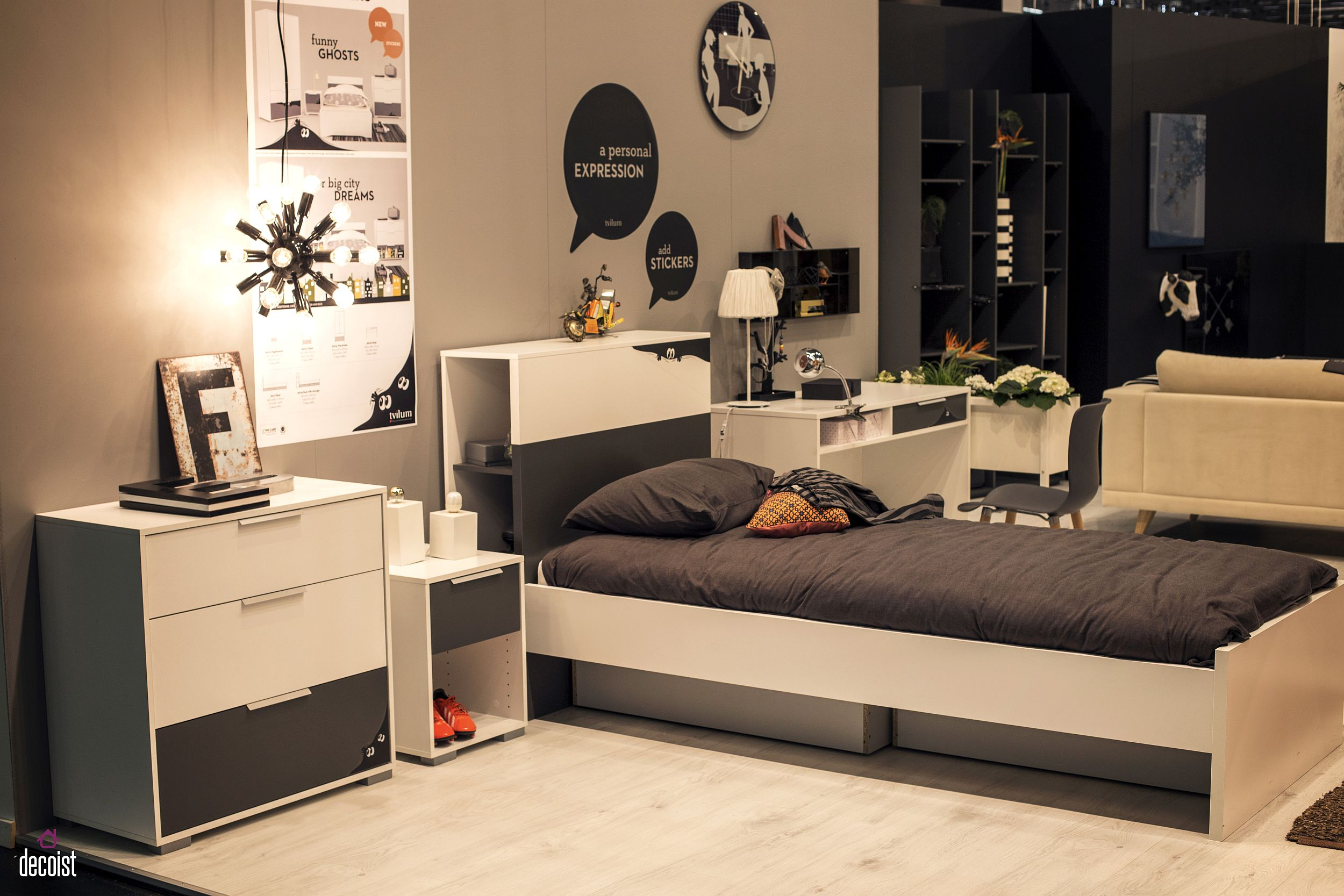 Space-savvy-and-stylish-kids-bedroom-with-matching-nighstands-additional-storage-space-and-a-homework-zone