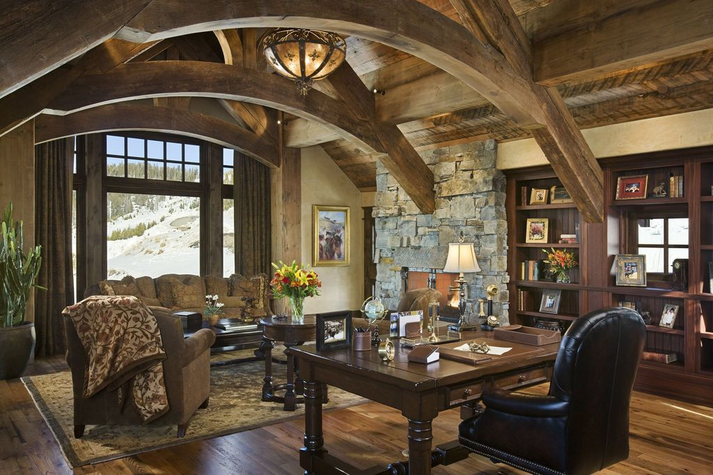 Merveilleux Cozy Workspaces: Home Offices With A Rustic Touch