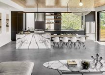 Stunning-marble-kitchen-island-with-an-exteded-dining-space-217x155