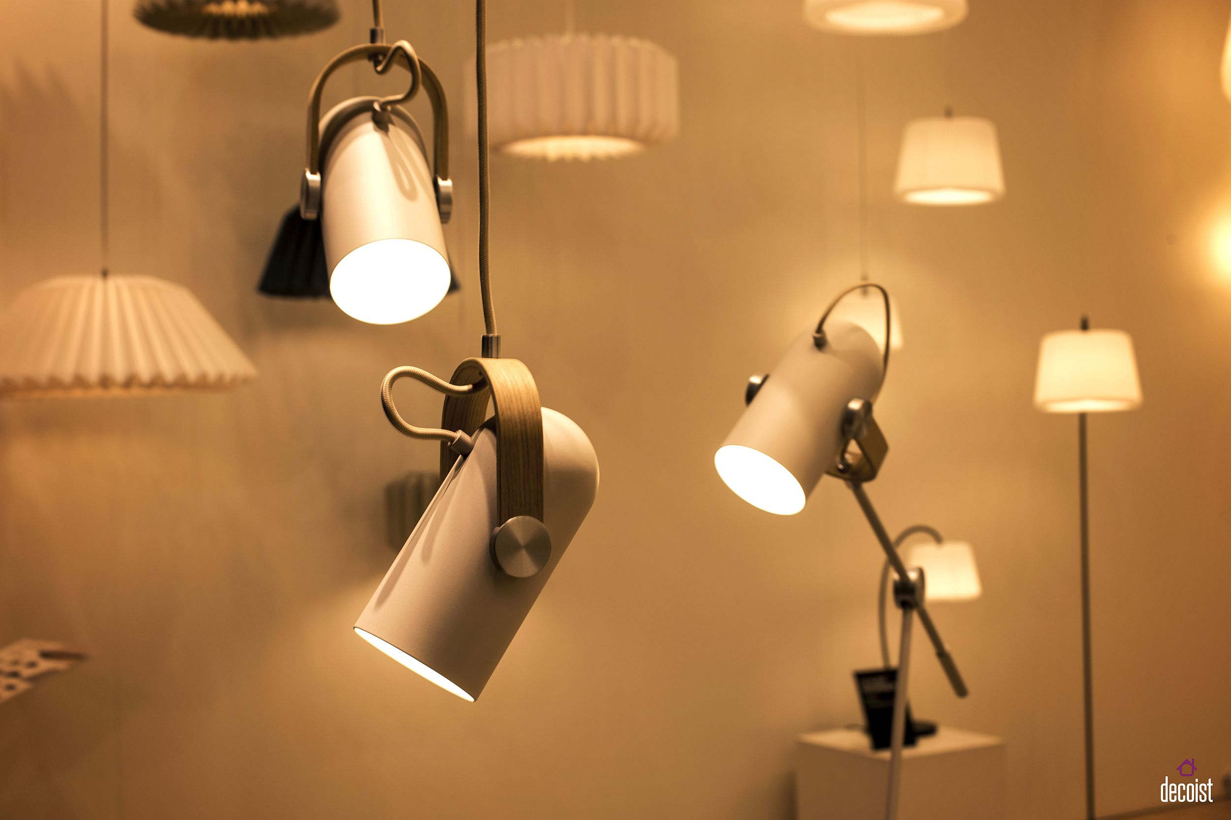Stylish series of trendy pendants from Le Klint