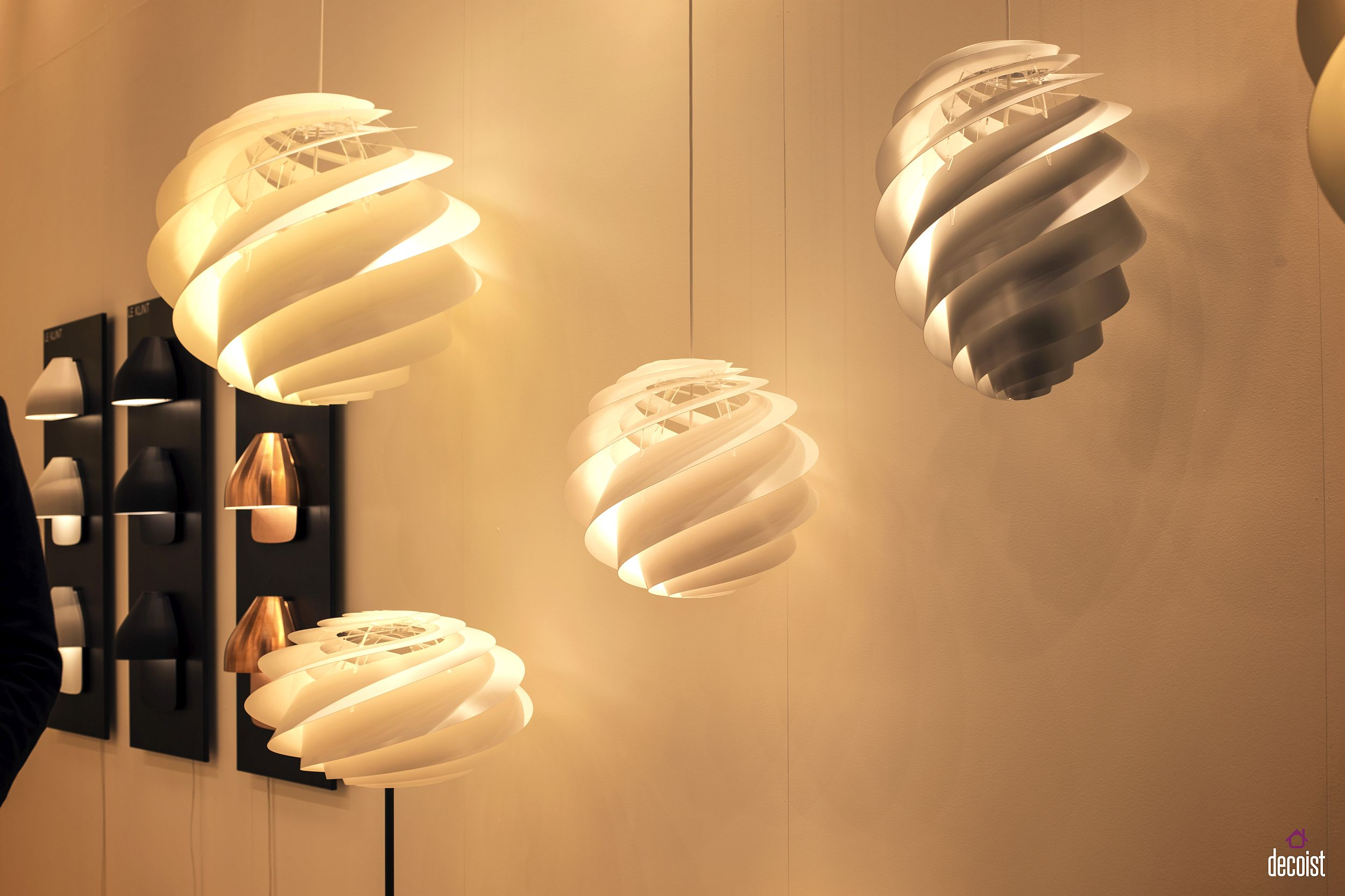 Swirl pendants from Le Klint are a modern icon in the making