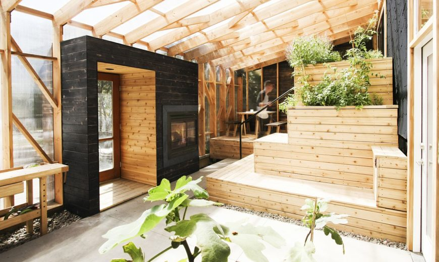 Amazing Solarium Steals the Show at this Renovated Mid-Century Bungalow