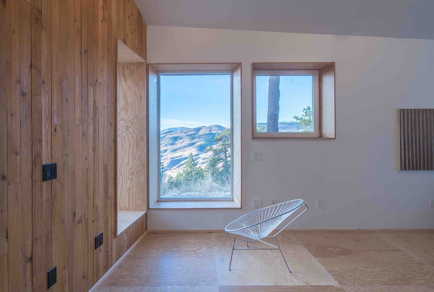 Top-notch insulation and great views combined at the MARTaK Passive House