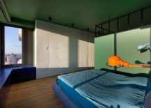 Touch-of-green-enlivens-the-minimal-bedroom-217x155