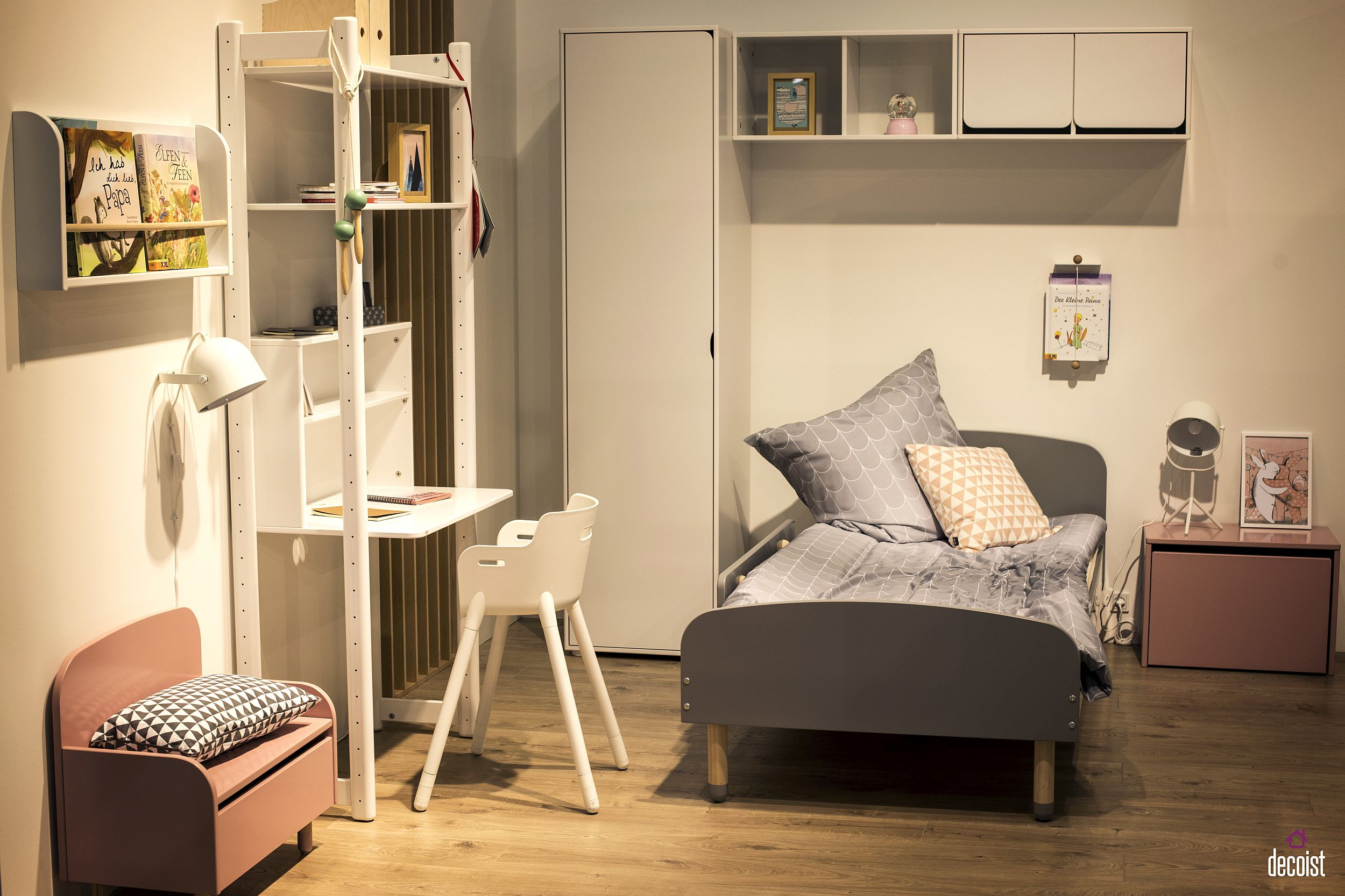 Trendy and versatile kids' bedroom furniture from Flexa