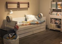 Trundle-bed-with-storage-wall-mounted-shelves-and-open-storage-space-for-toys-FLEXA-Popsicle-217x155