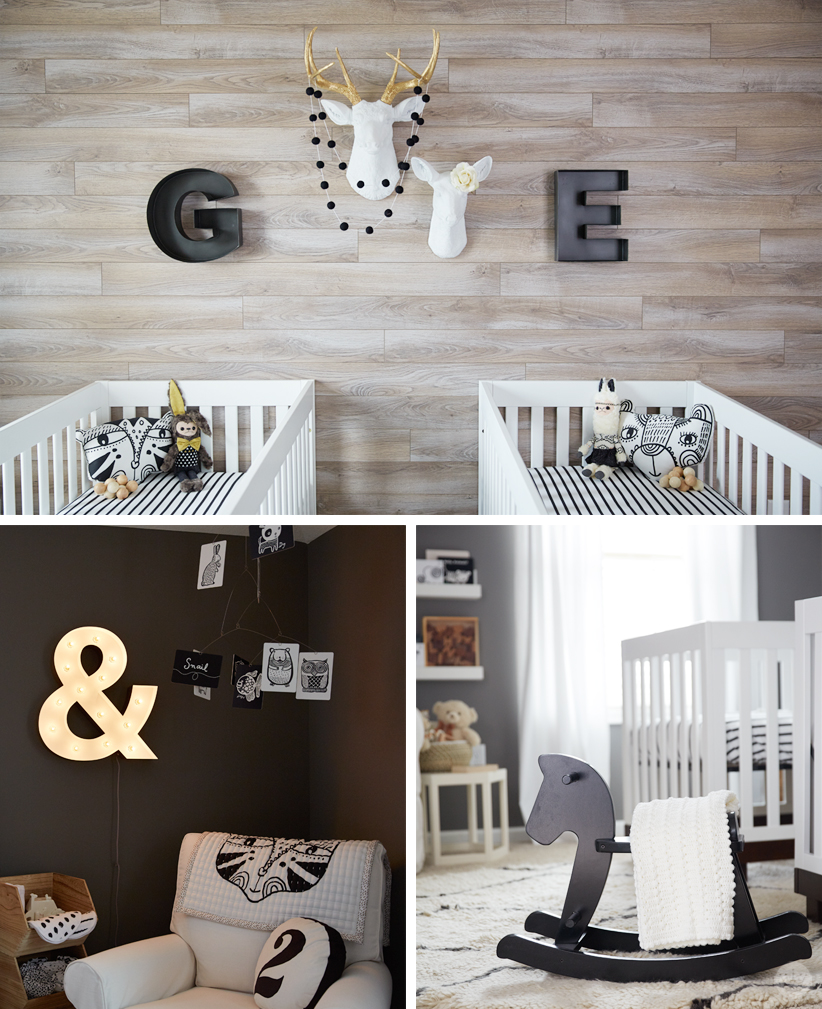 Twin nursery that is a masterpiece of neutral colors