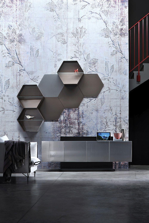 Trendy living room essentials space savvy tv units with a for Living room essentials