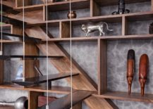 Unique-contemporary-stairway-with-wooden-stairs-suspended-using-metal-wires-217x155