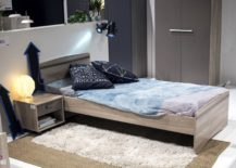 Wooden-bed-and-matching-nightstand-for-the-modern-rustic-kids-room-217x155