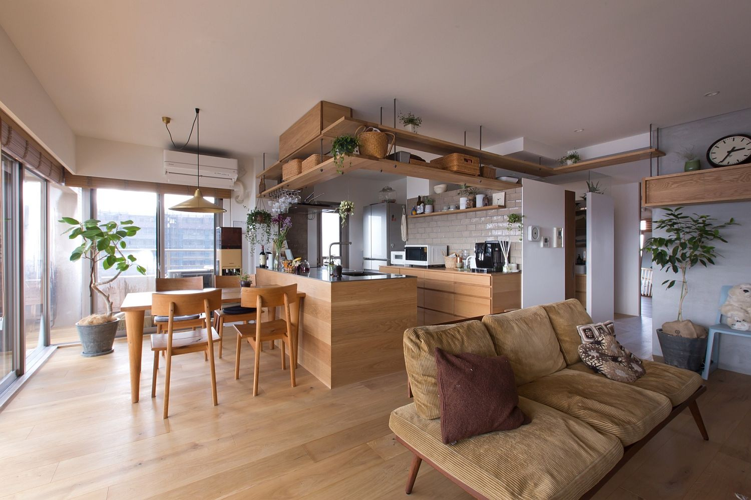 This Creative Japanese Apartment Is A Space Savvy Cat Haven