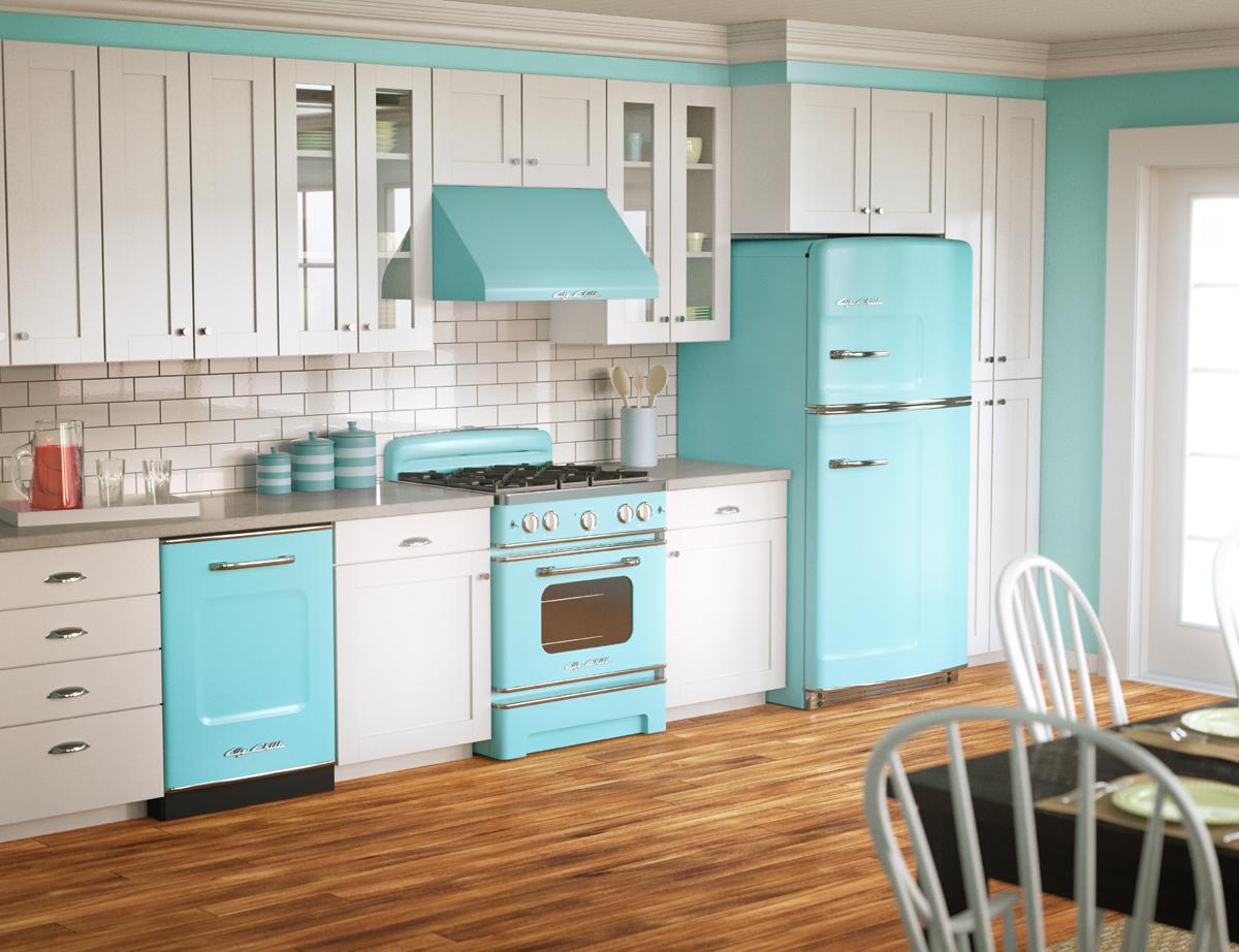 Pastel Kitchen 25 Pastel Kitchens That Channel The 1950s