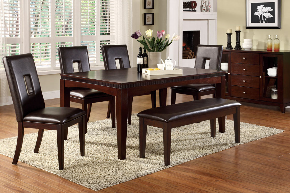 Kitchen Table From Mahogany Flooring