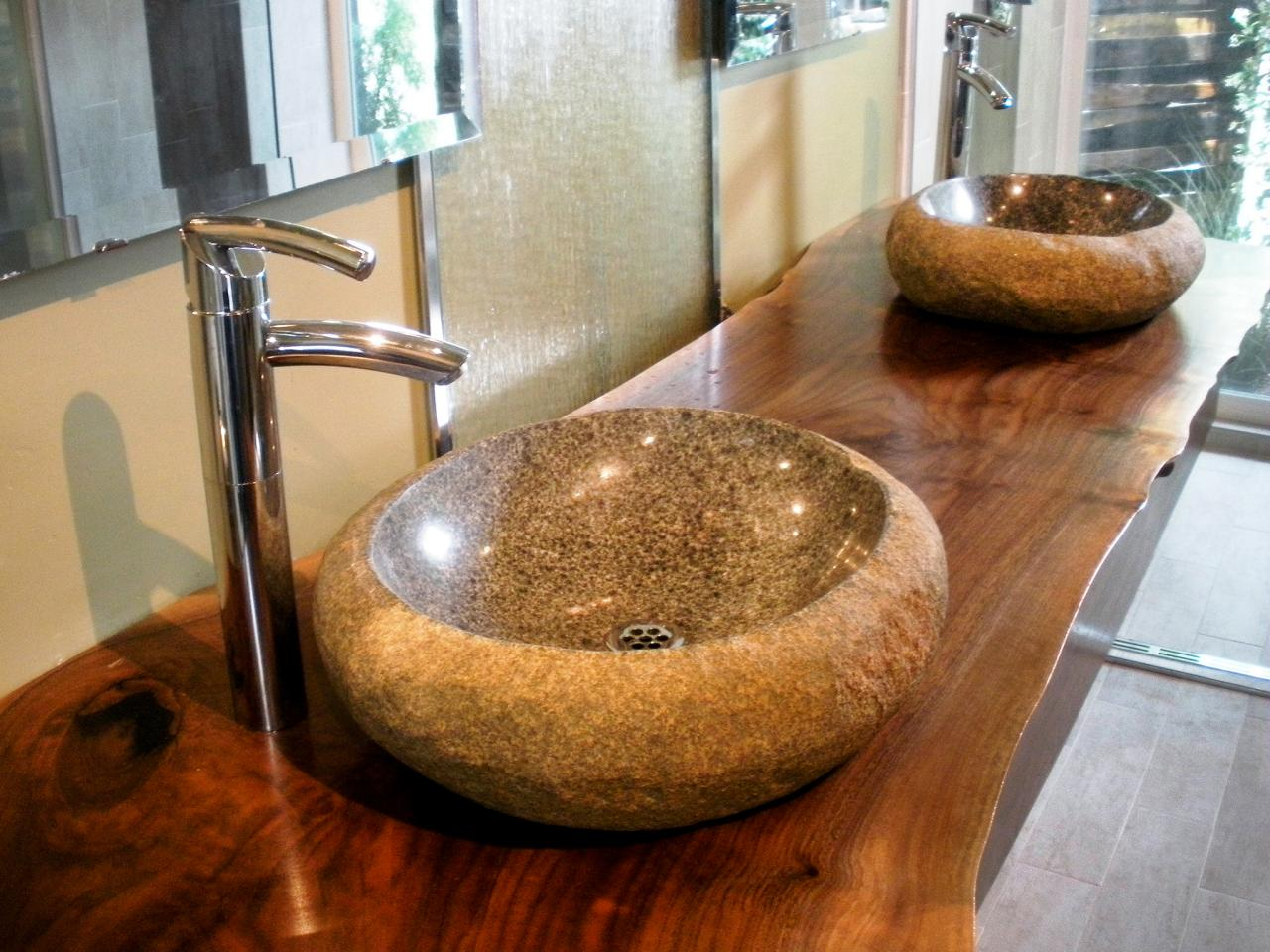 Stylish and diverse vessel bathroom sinks for Vessel sink bathroom ideas