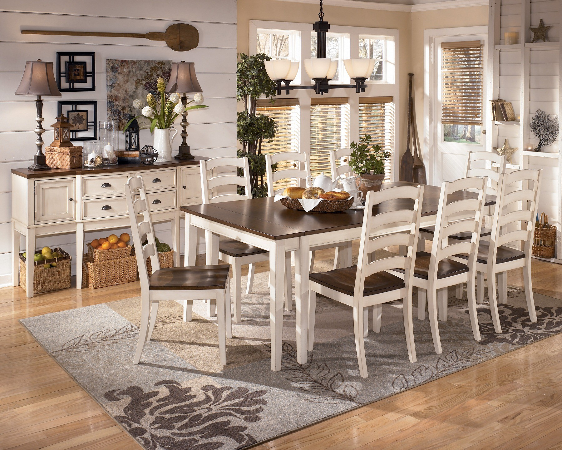 White dining room table - Country Dining Room Sets French Country Dining E Dcor Ideas Country Dining Room Sets