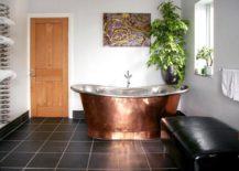 A-rustic-copper-tub-in-a-minimalist-bathroom-217x155