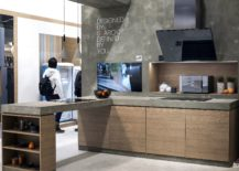 A-slab-of-wood-or-concrete-can-add-additional-space-to-the-one-wall-kitchen-217x155