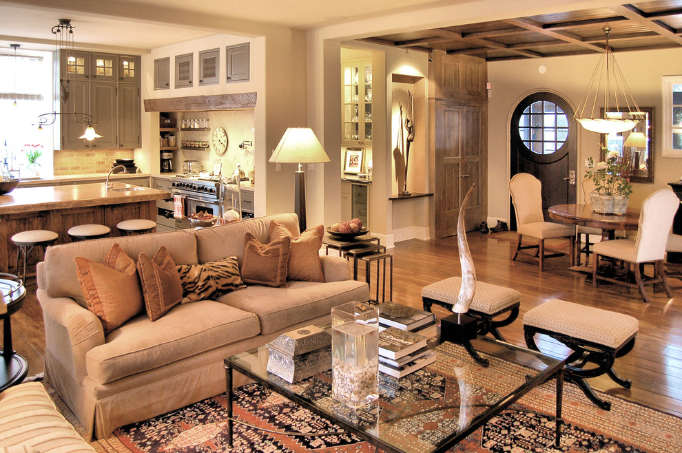 Blending In With Your Living Room. Sometimes coffee tables ... - 30 Glass Coffee Tables That Bring Transparency To Your Living Room