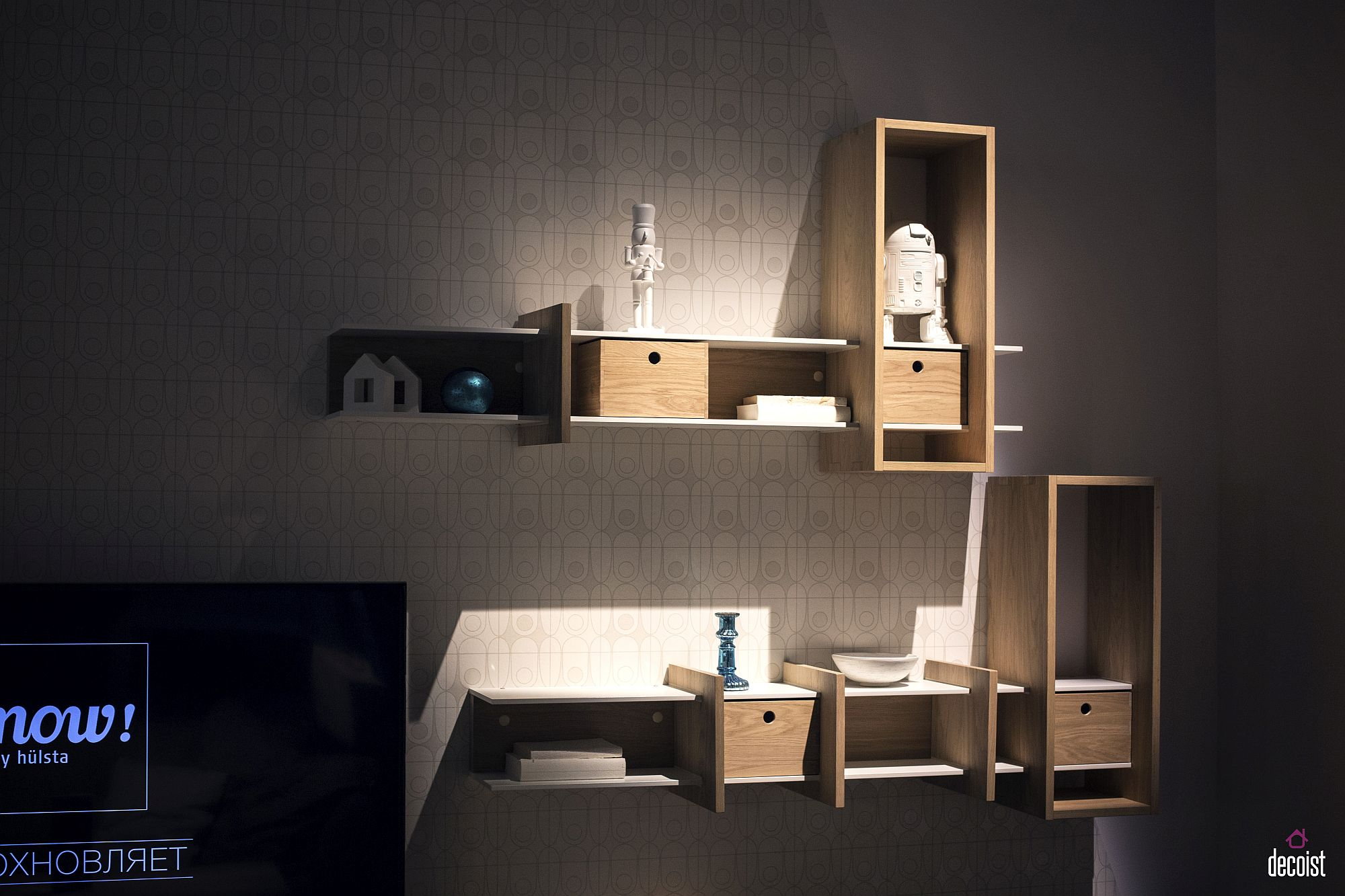 55 wall mounted open shelves offering space savvy modularity view in gallery mondrian wall shelf from cinas view in gallery amipublicfo Image collections
