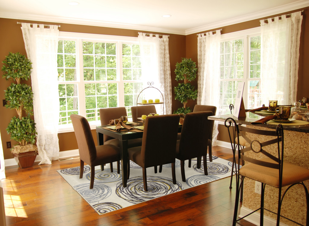 adding to the dining room elegance - Carpet For Dining Area
