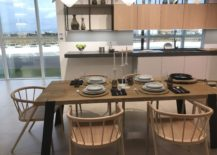 Beige-modern-dining-area-for-the-kitchen-GamaDecor-217x155
