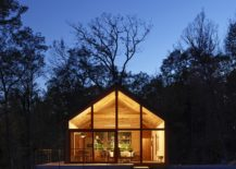 Cabin-at-the-Hudson-Woods-after-sunset-217x155
