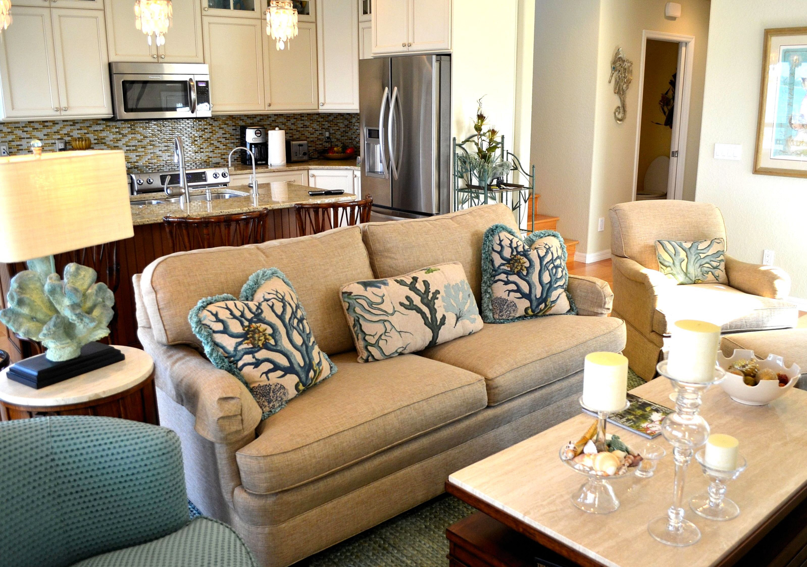 Super Coastal Living Rooms That Will Make You Yearn For The Beach Largest Home Design Picture Inspirations Pitcheantrous