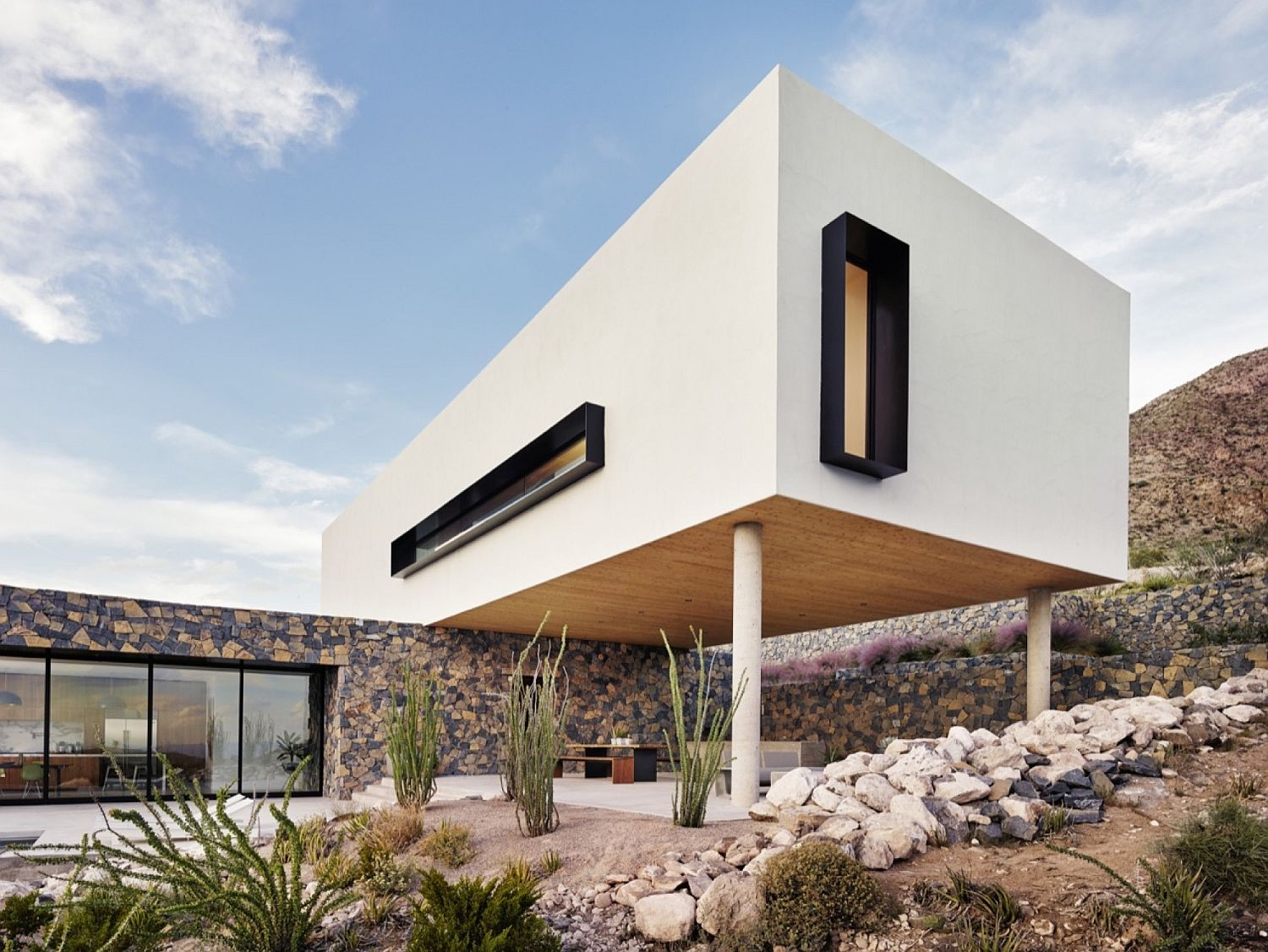In the foothills of franklin mountains multi level family for El paso home designers