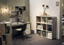 Cement-like-finish-of-the-shelves-gives-the-home-office-a-unique-look-217x155
