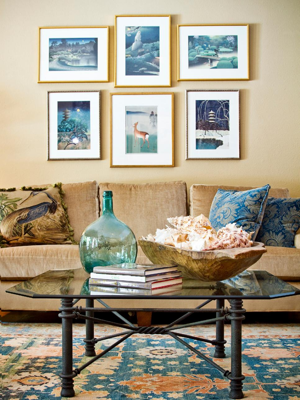 The Colors of the Sea : coastal themed decorating ideas - www.pureclipart.com