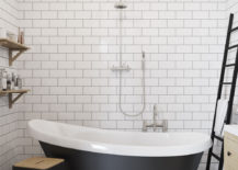 Checkerboard-flooring-is-a-great-companion-to-subway-tiles-217x155