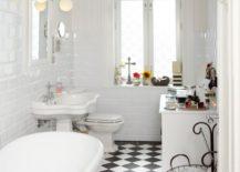 Checkered-bathroom-that-feels-like-a-dynamic-cozy-space-217x155