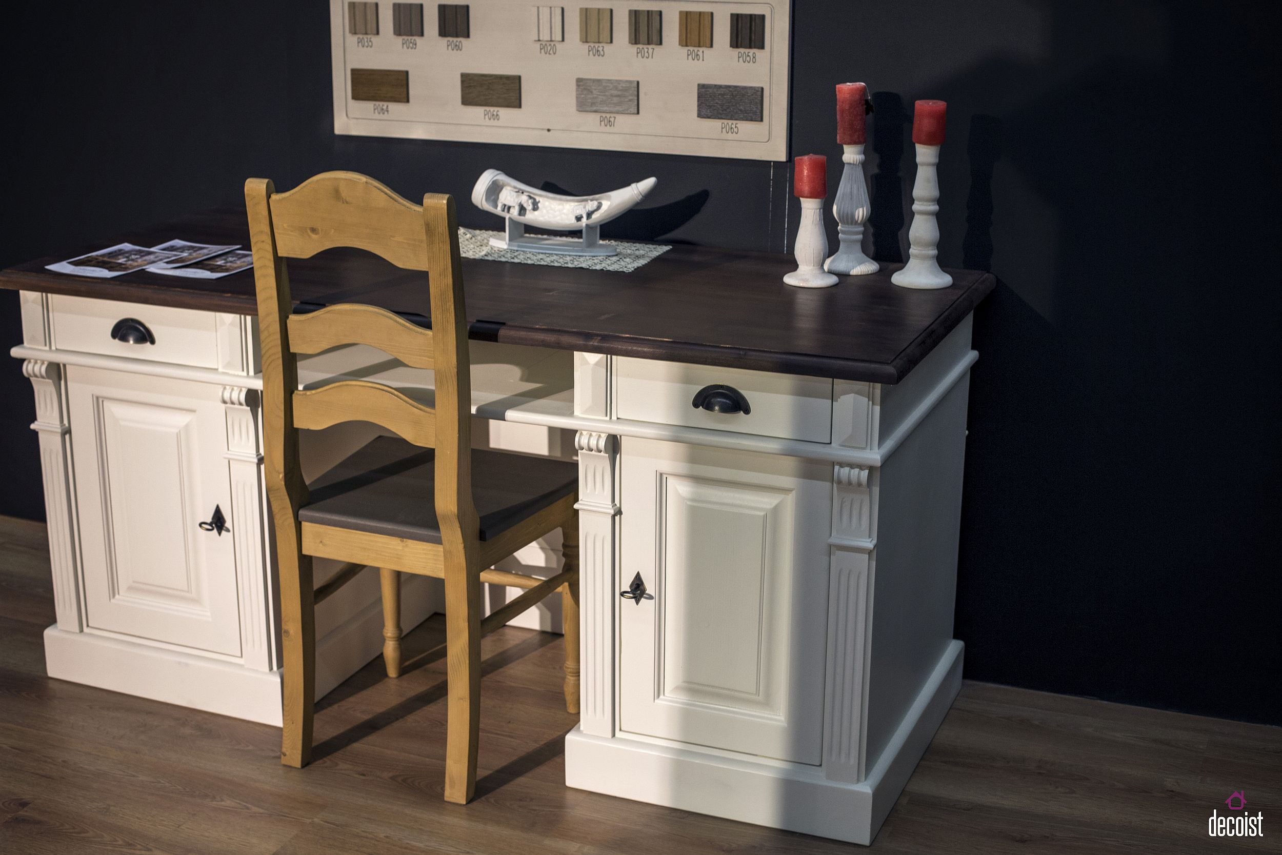 Classic modern home desk from Szel Mob