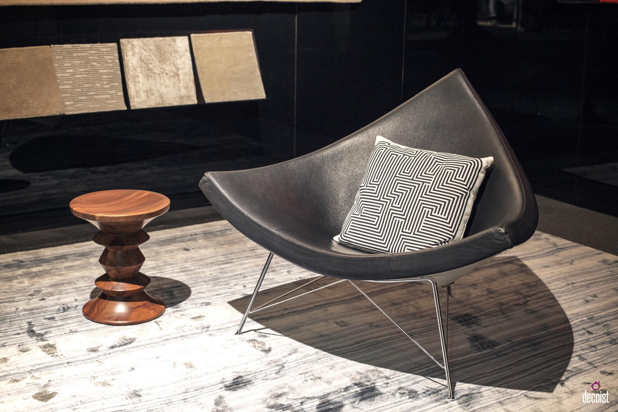 Nelson coconut lounge chair photo decoist