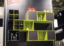 Colorful-series-of-open-and-closed-shelves-in-lime-green-and-gray-217x155