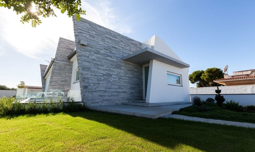 Cultured Minimalism: Margraf Marbles Define Polished Sicilian Villa