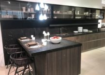 Contemporary-dark-kitchen-furniture-with-wood-inspired-ceramic-tiles-GamaDecor-217x155