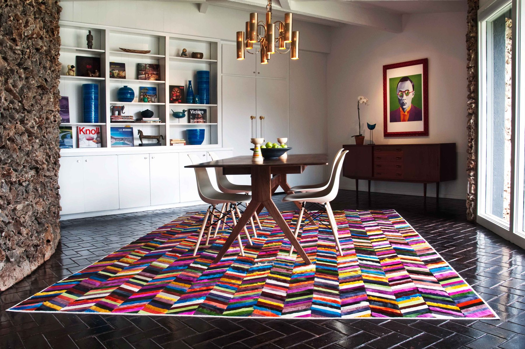 rug like that and it is absolutely the greatest pick for a dining room