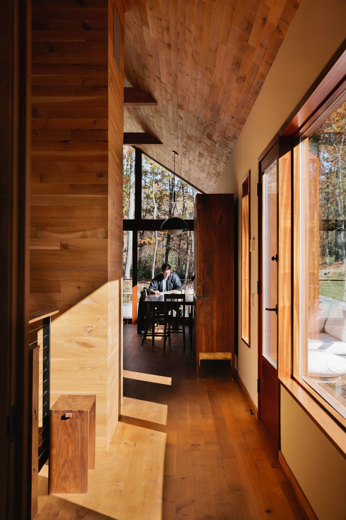Hudson Woods Sustainable Modern Cabins Offer An Escape From Nyc