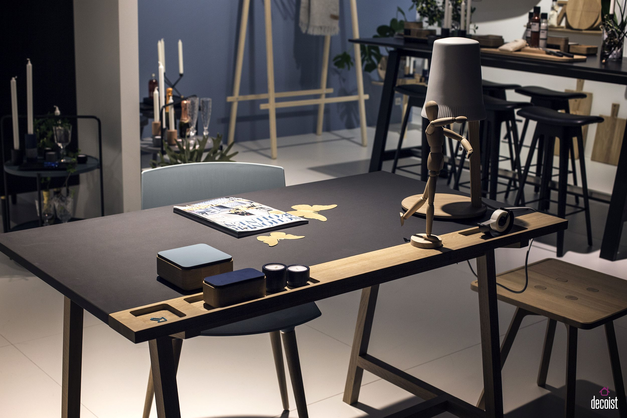 D1 Desk by KATO from Andersen Furniture