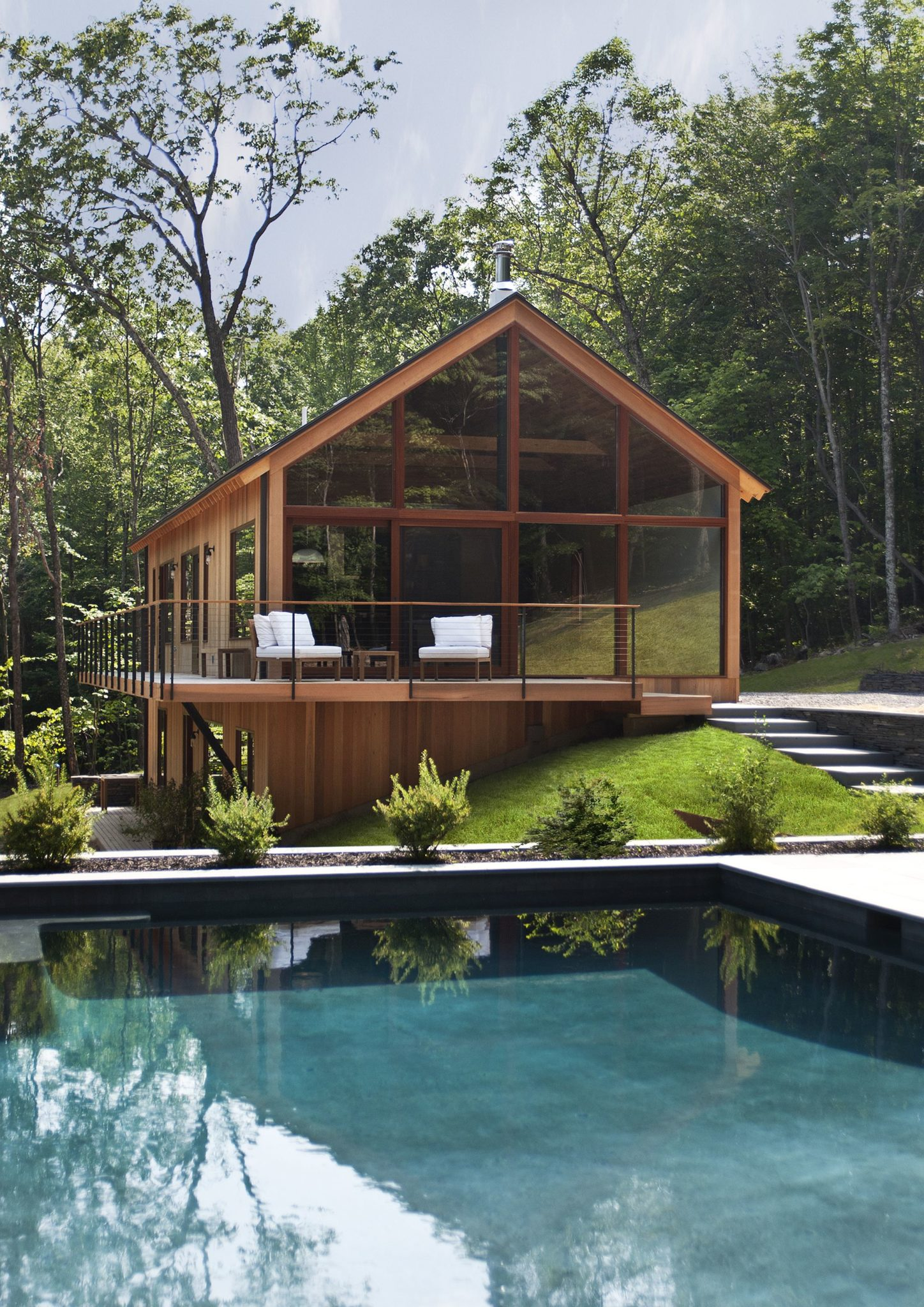 View In Gallery Dashing Modern Cabin Design At Hudson Woods