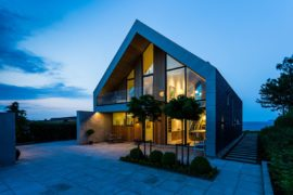 Scenic Ocean Views Meet Serene Nordic Design at Villa P