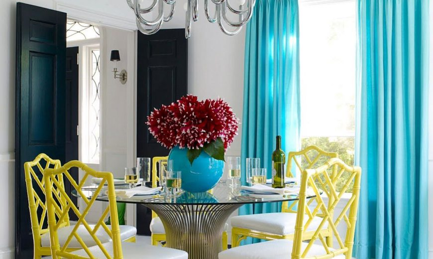 Serve it Bright: 15 Ways to Add Color to Your Contemporary Dining Space