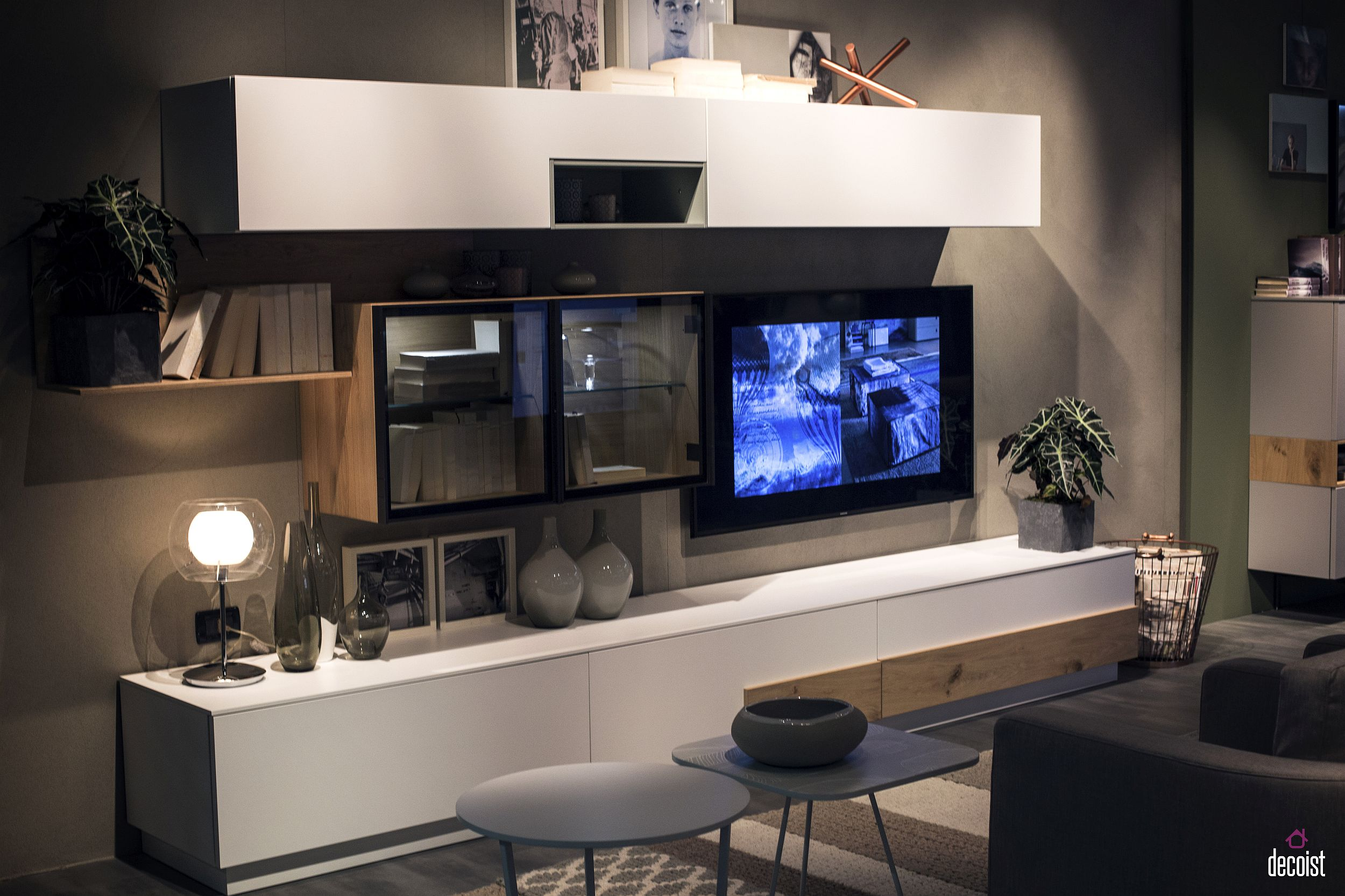 Tastefully Space-Savvy: 25 Living Room TV Units That Wow